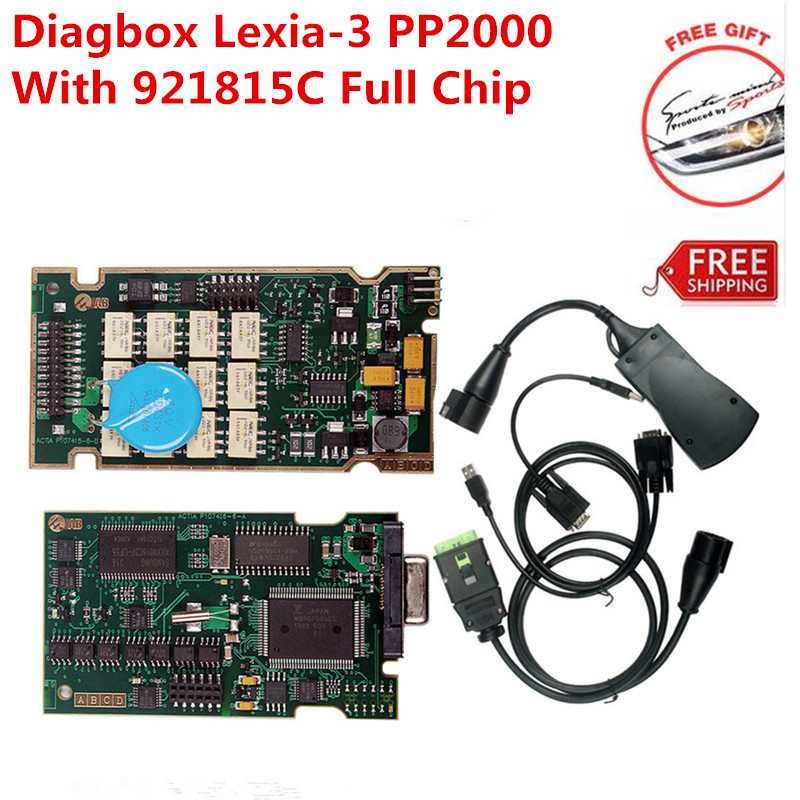 Newest Programming Diagbox 7 83 PP2000 V25 Lexia3 V48 With 921815C Full Chip Lexia 3 PP2000