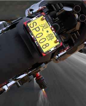 Falling Protectors Universal Motorcycle CNC Aluminum Alloy Frame Slider Anti Crash Caps engine protection Moto Crash Pad Protect