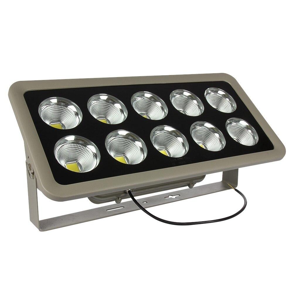 1 шт. 500 Вт AC85-265V Водонепроницаемый вел прожектор Spotlight Теплый/Холодный белый Освещение напольный светильник светодиодный проектор свет