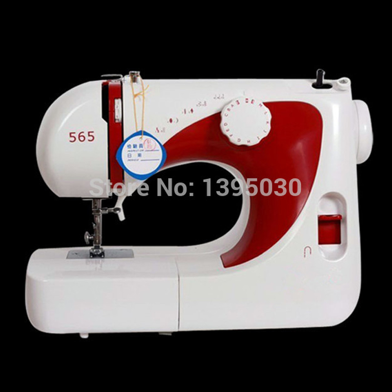 1PC Multi-function 565 Electric Household Sewing Machine Desktop Overcastting Thick cukyi multi function household electric grills