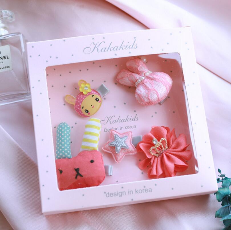 Nova djeca Dječji dodaci za kosu poklon kutija Cvijeće Isječci za - Pribor za odjeću - Foto 4