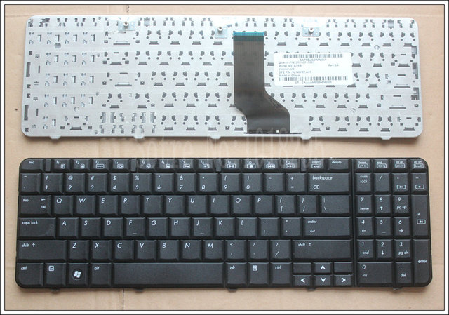Novo inglês teclado para hp compaq presario cq60 cq60-100 cq60-200 cq60-300 g60 g60-100 teclado do portátil eua