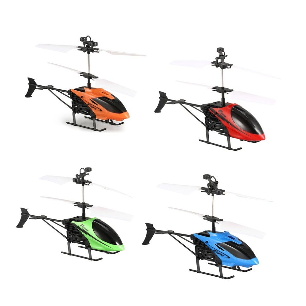 D715 RC Flying Mini Infrared Induction RC Helicopter Drone Remote Control Aircraft With LED Flashing Light For Kids Toys Gift