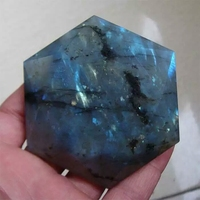 100% natural quartz crystal labradorite plays as the best Christmas gift for friends
