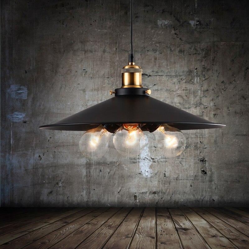 loft Iron Pendant Light Indutrial Vintage Loft Bar Cafe Restaurant Nordic Country Style Birdcage Pendant Lights Hanging Lamp