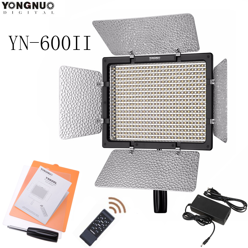 YONGNUO YN600L II 5500K CRI 95 LED Light with 2 4G Wireless Remote Control 600 LED