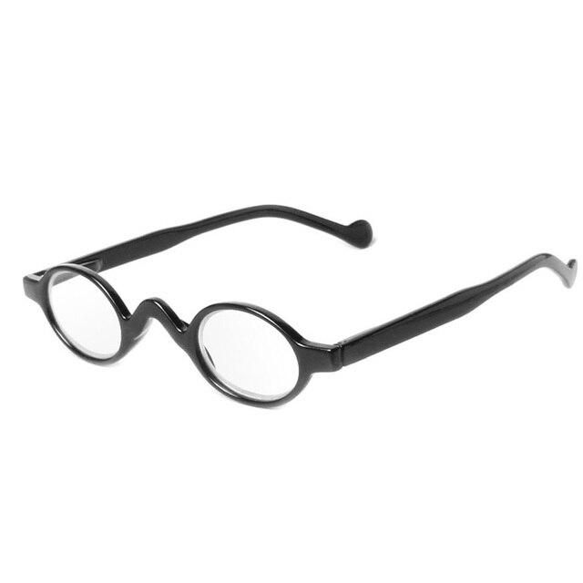 c1814f84f07ce Leitores Óculos de Leitura Das Mulheres Dos Homens do vintage Pequenos  óculos de Armação Redonda Óculos. Passe o mouse em cima para ...