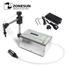 ZONESUN-máquina de Llenado de líquidos eléctrica, minibotella pequeña, bomba Digital de agua, Perfume, bebida, leche, rellenador de aceite de oliva