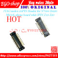 Free shipping 100% original 10pcs/lot JTAG molex 12P Header for I9100 I535 I897 phone board whit JPIN Z14 Z15 Z16 Z17 Z22