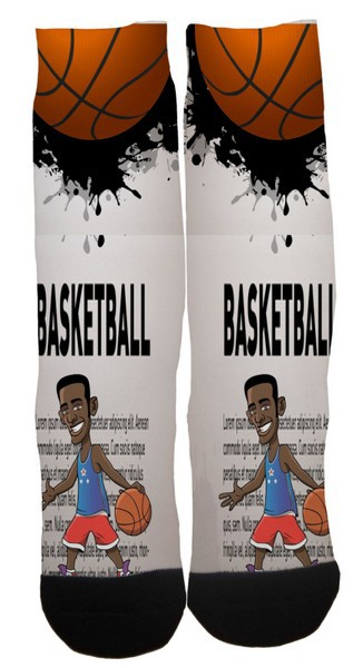6d64a19d9b876 New Fashion Custom sports Sublimation Printed Elite Socks Custom Design  Thigh High Socks Basketball Socks Skateboard Socks-in Men's Socks from  Underwear ...
