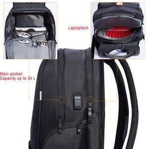 Image 5 - KALIDI Waterproof Laptop Backpack 17.3 Inch Travel Bags Usb 17 Inch School Men Backpacks Women Casual Bagpack 15.6 Inch DayPack