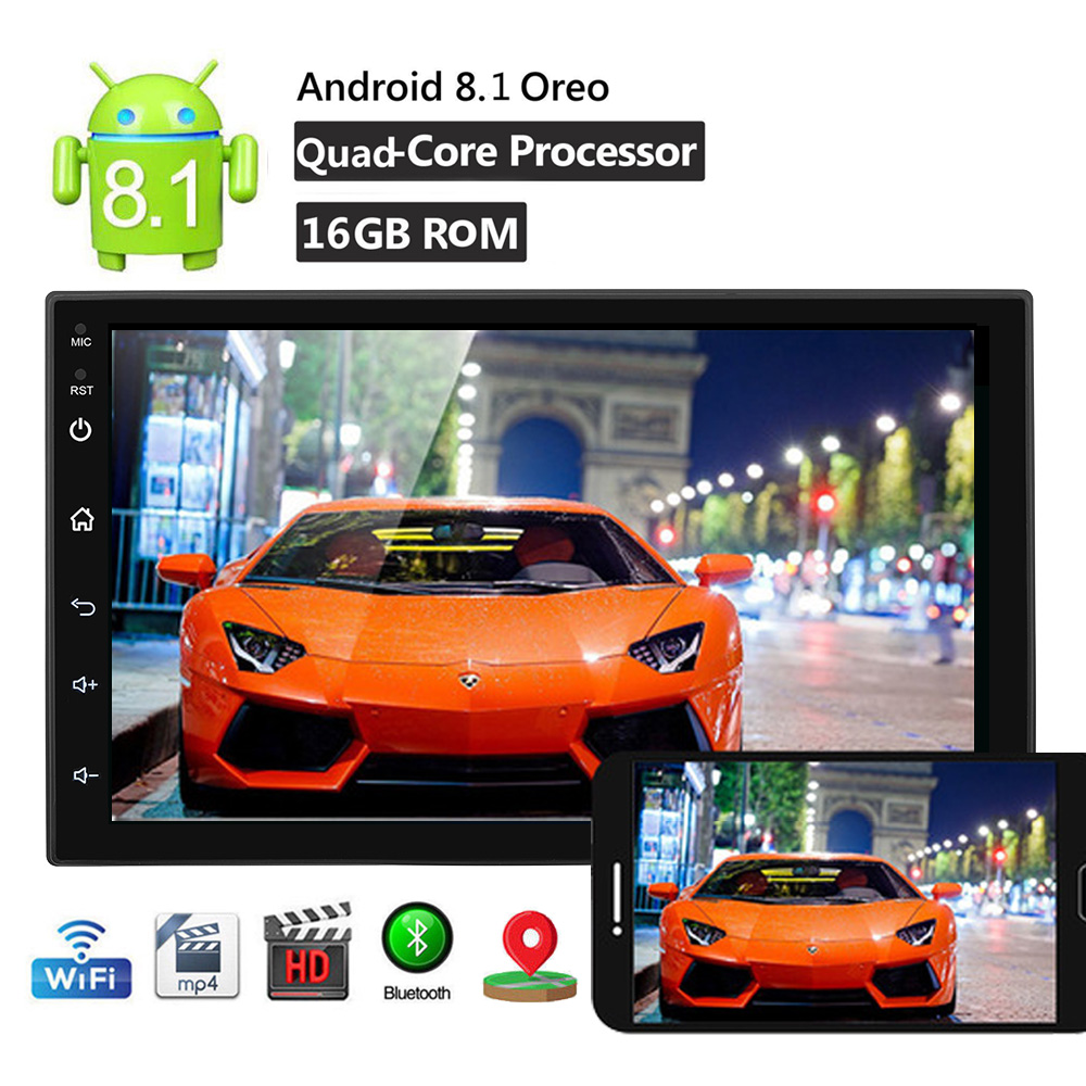 7 Inch 2 Din Car GPS Radio Multimedia Video Player Universal Car Auto Stereo Wifi Bluthtooth Mirror Link 1GB RAM 16GB ROM7 Inch 2 Din Car GPS Radio Multimedia Video Player Universal Car Auto Stereo Wifi Bluthtooth Mirror Link 1GB RAM 16GB ROM