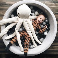 New Baby Ocean Ball Pool Pit Fencing Manege Round Play Pool for Baby Play Ball Funny Playground For Toddlers Game Tent Toys