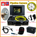 New Arrival 30m Cable 7'' TFT LCD Sewer Pipeline Endoscope Inspection Snake Camera Steel Lens IP68 Waterproof with dvr function