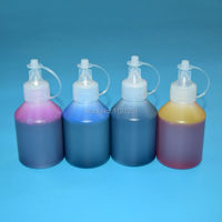 4color 100ml Bottle Water Based Dye Ink Refill Kit For Epson Expression Home Xp 231 Xp