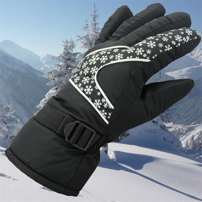 Windstopper Outdoor Sports Snowboard Skiing Gloves Bike Cycling Gloves Windproof Winter Gloves Thermal Warm Unisex Snow Gloves