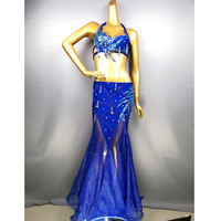 Hot Sale Free Shipping 2019 Sexy fashion belly dance suit bellydance costume wear Belly dance cloths Top&Skirt