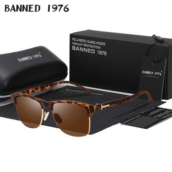 2019 HD Polarized Club Women men Sunglasses Brand new Designer Sun Glasses For Ladies man Retro Vintage fashion Mirror oculos