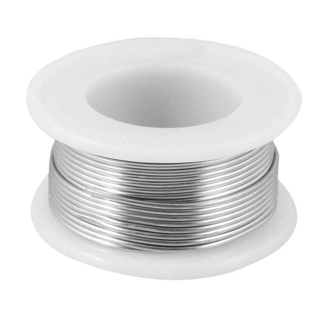 1.2% Flux 1mm Diameter Tin Lead Soldering Rosin Core Wire Silver ...