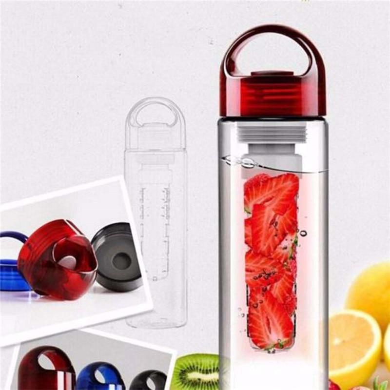 Porteble Juice Water Bottle700ml Fruit Infuser Watter Bottle Lemon Juice Maker Bike Sports Health bottle