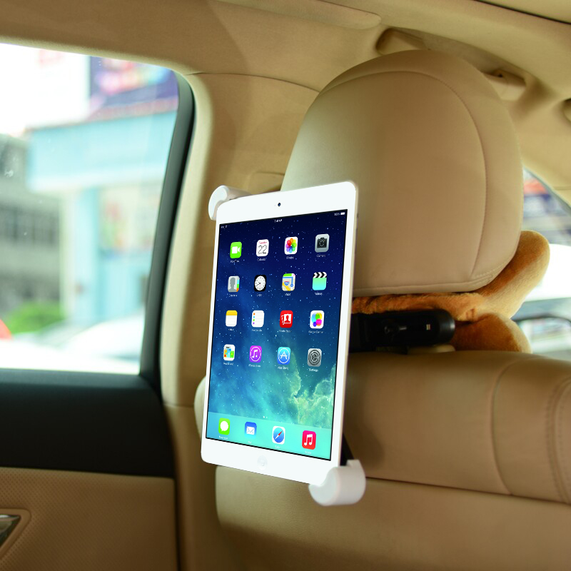 Fashion Car Back Seat Tablet Car Holder Stand Stents for ipad 2 3 4 5 6 mini 3 4 for Samsung tab 2 3 4 kindle Tablet Holder Car