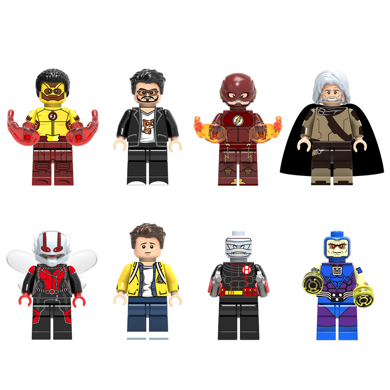 Single legoings super hero kid flash wally west the flash ego the living planet wasp leggoings - Flash le super heros ...