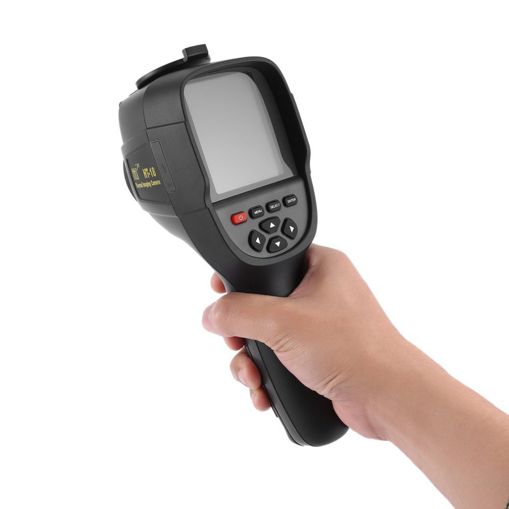 Portable HT-18 HD Thermal Imaging Camera Infrared Imaging Sensor Visible Light Camera Built-in Chargeable Battery