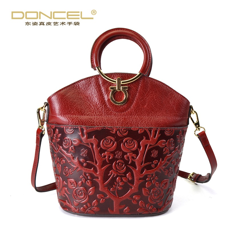 Designer women leather handbags high quality real leather tote bag chinese style ladies hand bags woman bag 2017 shoulder bags mance designer handbags high quality gift women girl shoulder bag faux leather satchel crossbody tote ladies hand bags