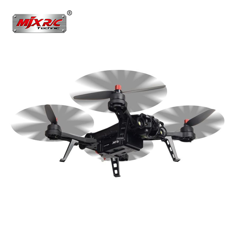 MJX Bugs 6 Brushless Racing Drone 1800KV Motors Pre-assembled RTF Quadcopter for Training Upgradable to FPV Version Helicopter in stock mjx bugs 6 brushless c5830 camera 3d roll outdoor toy fpv racing drone black kids toys rtf rc quadcopter