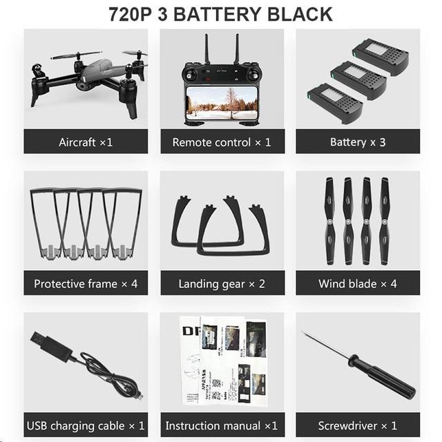 720P 3 Battery Black