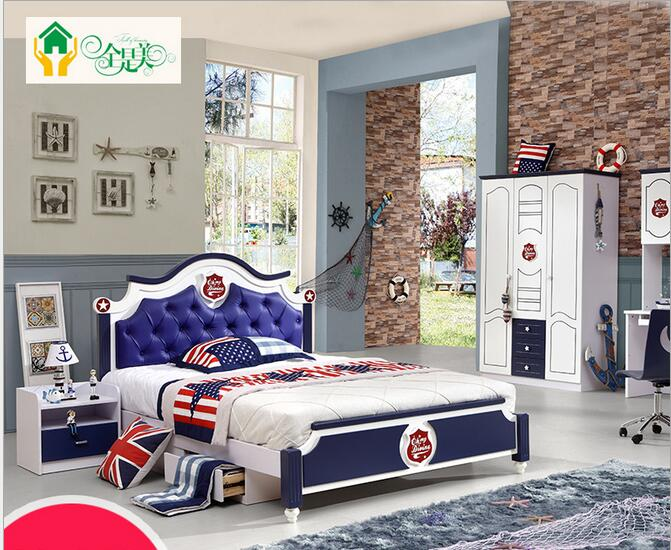 Boys And S Children Beds Furniture Suite 1 2 M Korean Kids Bedroom In Sets From On Aliexpress