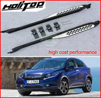 for Honda HR-V HRV side step side bar VEZEL running board,excellent material,low profit, promotion price, nearly cost price