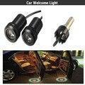 2 pcs Porta Do Carro LEVOU Logo Luz Auto Bem-vindo Lâmpada A Laser fantasma sombra luz do projetor para toyota honda vw renault opel Subaru