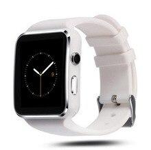 GONOKER Bluetooth Smartwatch À Prova D' Água SIM X6 Bluetooth Inteligente Telefone Do Relógio de Pulso para Android IOS Samsung Sony Smartphone Huawei