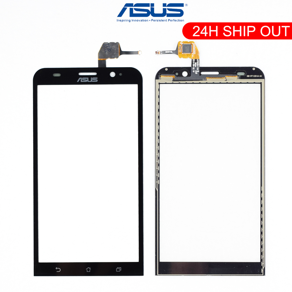 Original 5.5'' Touch Screen For ASUS Zenfone 2 ZE551ML Touch Screen Z00AD Glass Panel Digitizer Replacement Parts