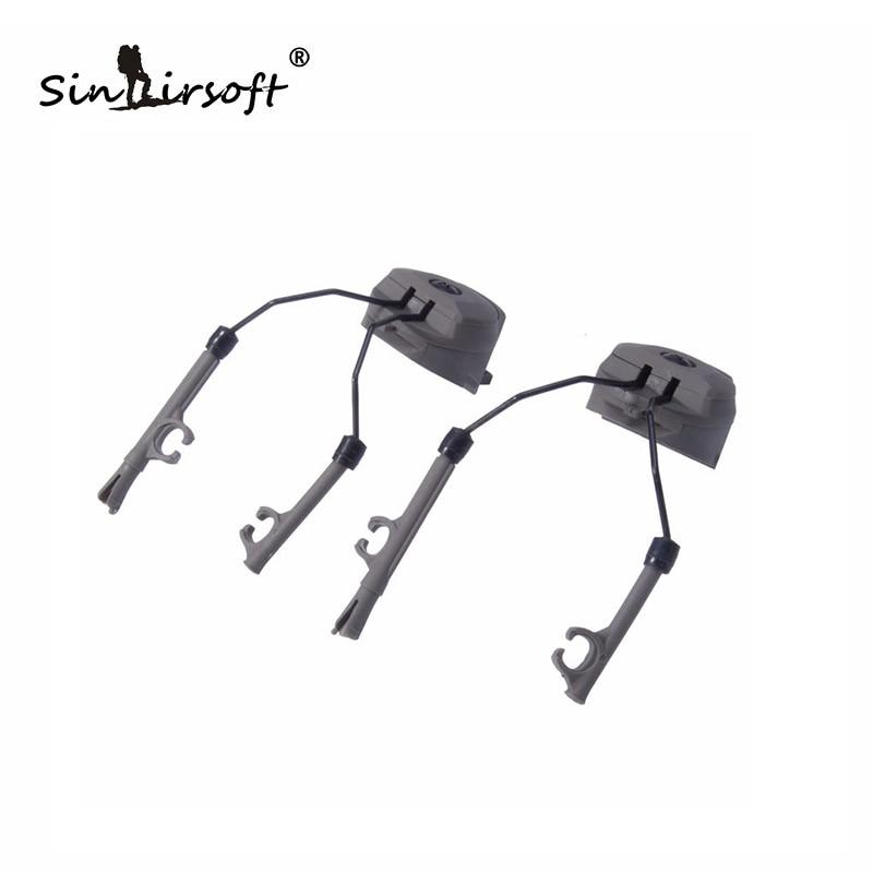 SCHNELLES Helmzubehör SCHIENENADAPTERSATZ Peltor Comtac Headset Ops-Core Helm ARC-Schienenadapter für C1 C2 C4 BD5672