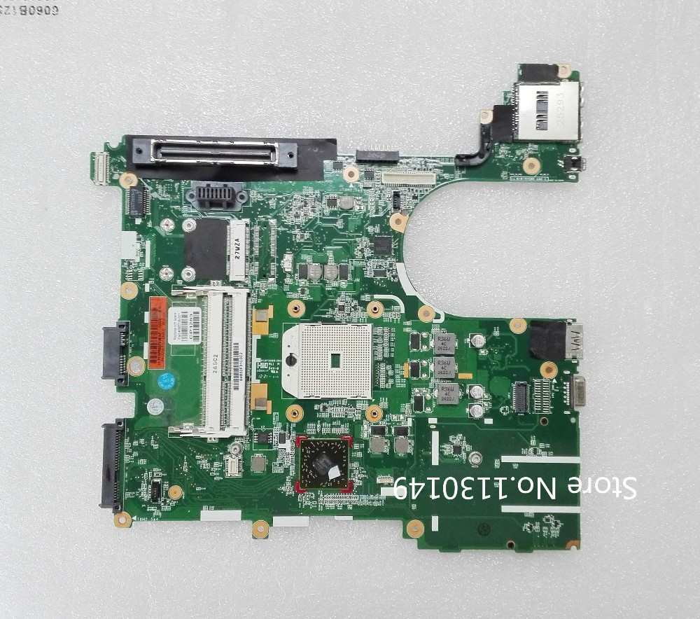 ФОТО 665718-001 Free shipping for HP 6565B 8565P laptop motherboard 665718-001 AMD system board DDR3 100% test OK