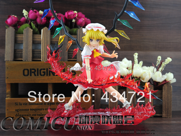ФОТО New Flandre Scarlet Griffon Enterprises Touhou Project  Red Sword Garage Kits Birthday Gift without original package loose