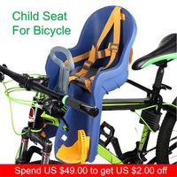 Baby Seat For Bicycle Bike Kids Children Front Baby Seat Child Seat For Bicycle Cycling Carrier with Handrail