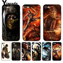 Yinuoda For iPhone 7 6 X Case Scorpion in Mortal Kombat Better Phone Case for iPhone 7 6 X 8 6s Plus 5S SE XR XS XSMAX(China)