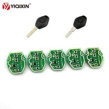YIQIXIN 1Pcs 3 Button Remote Car Key Control Circuit Board For BMW EWS X3 X5 Z3 Z4 1/3/5/7 1 3 5 7 X3 X5 Z3 Series Keyless Entry stenzhorn 433mhz remote key fob 3button for bmw ews x3 x5 z3 z4 1 3 5 7 series 2002 2003 2004 2005 with hu92 blade without chip
