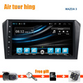 Quad Core Android 5.11 Для MAZDA3 2006 2005 2006 2007 2008 2009 2010 2011 2012 Автомобильный DVD gps-навигация Радио Bluetooth 1024*600