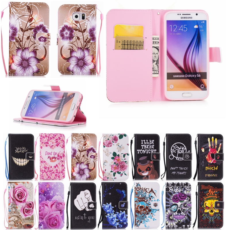 Leather Flip Cover Case For Samsung Galaxy A3 A5 A7 A320F A520F A720F 2017 A310F A510F A710F 2016 A300F A500F A700F 2015 Case