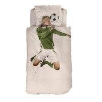 Cotton Football Palyer 3D Children S Bedding Three Pieces Home Textiles 3pcs Luxury