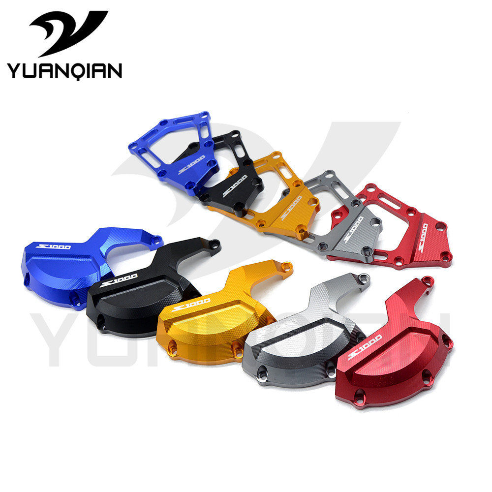 for BMW S1000RR HP4 K42 K46 2009 2010 2011 2012 2013 2014 2015 Moto Bike Engine Saver Stator Case Guard Cover Slider Protector for yamaha r1 2009 2010 2011 2012 2013 2014 motorcycle accessories motorbike parts engine cover engine protective side protector