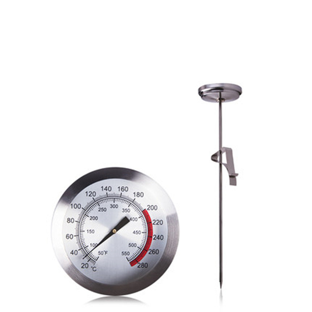 Kitchen Measuring Tools Retro Appliances Professional Stainless Steel Food Thermometer Water Milk Meat Thermometers Tool Cooking Supplies