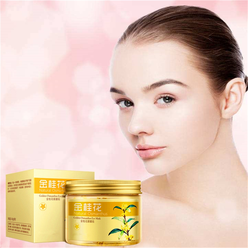 Dropship anti cerne Gold Osmanthus Essence Mask Face Dark Circles Anti-Aging Skin loose Moisturizing around the eyes patch