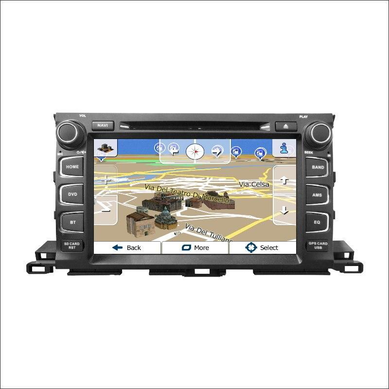 Mulitmedia CD DVD GPS Bluetooth Navigation Radio 2016 Toyota Highlander