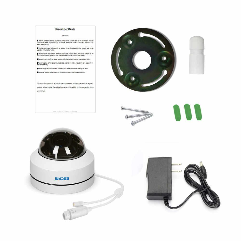 ESCAM PVR002 2MP HD 1080 P IP PTZ купольная камера 4X зум 2,8-12 мм объектив Водонепроницаемость ночного видения Обнаружение движения