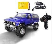WPL C24 RC автомобиль дистанционного управления 2,4 г RC Гусеничный внедорожный автомобиль багги движущаяся машина 1:16 4WD дети аккумуляторные автомобили RTR подарки